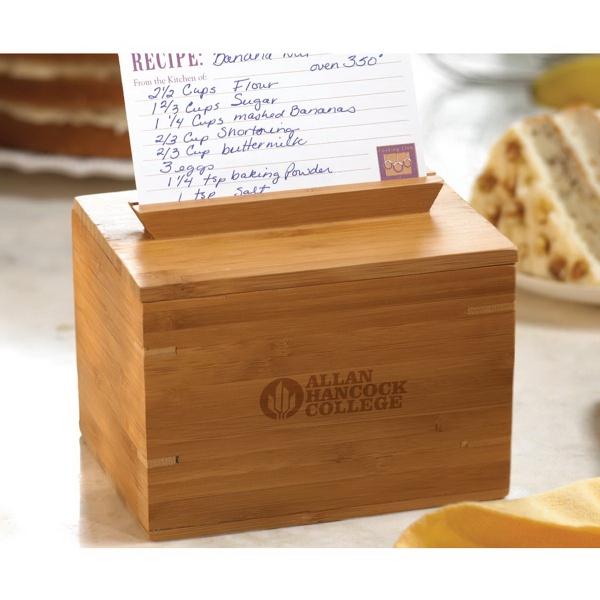 Savor 3x5 Recipe Box