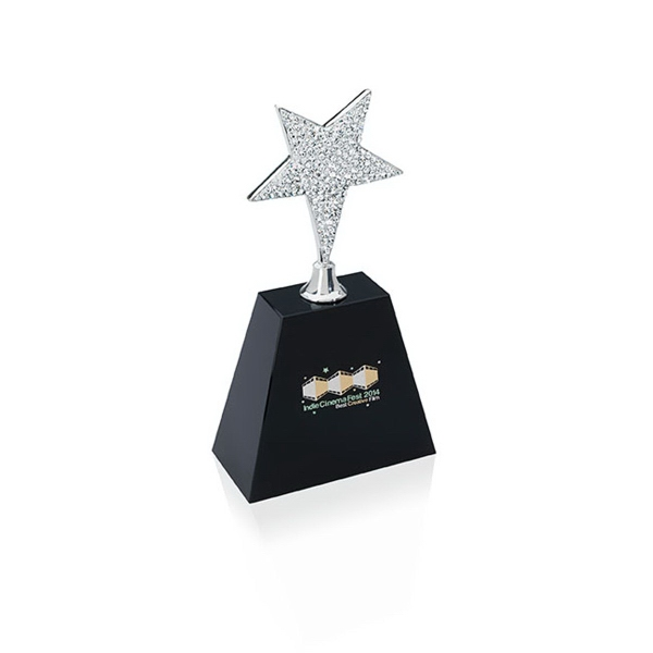Small Rhinestone Star Award