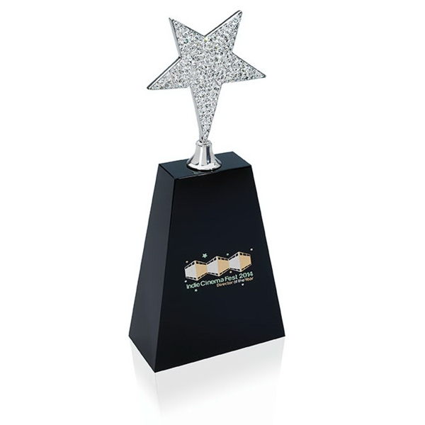 Medium Rhinestone Star Award