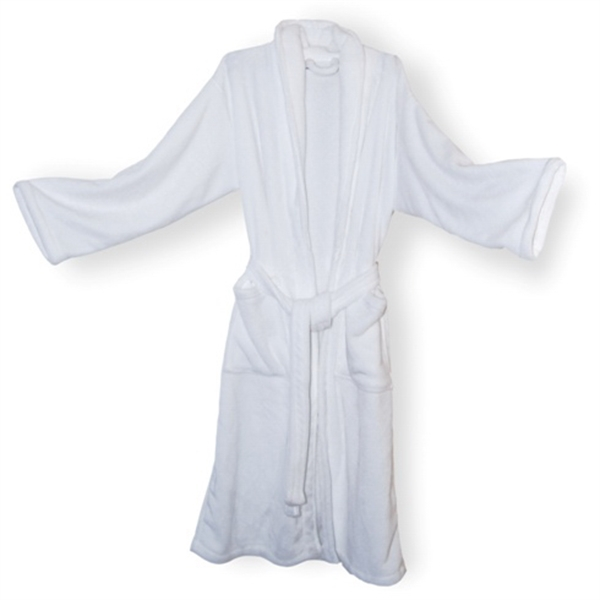 MINK TOUCH ROBE EMBROIDERED