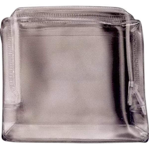 Clear Zip Top Bag - Clear Zip Top Bag. Unimprinted.