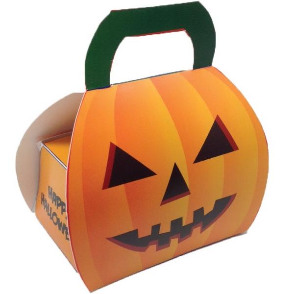 Custom Halloween Pumpkin Box