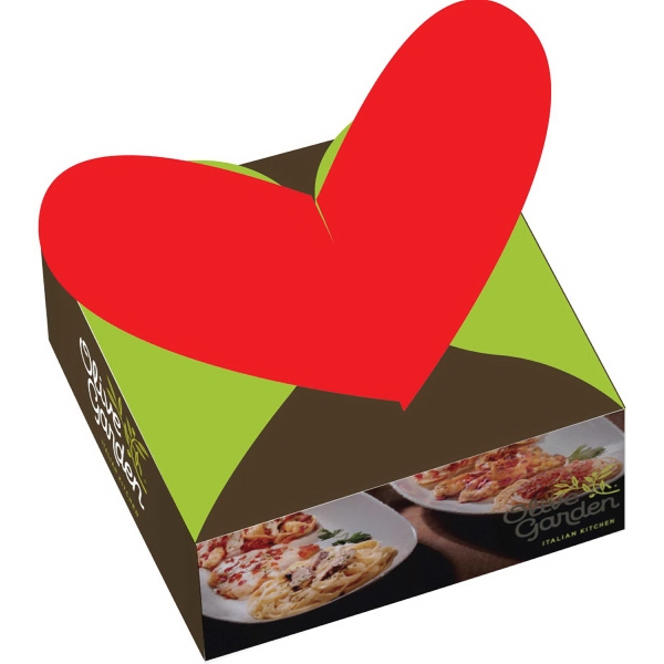 Custom Valentines Day Heart Gift Box