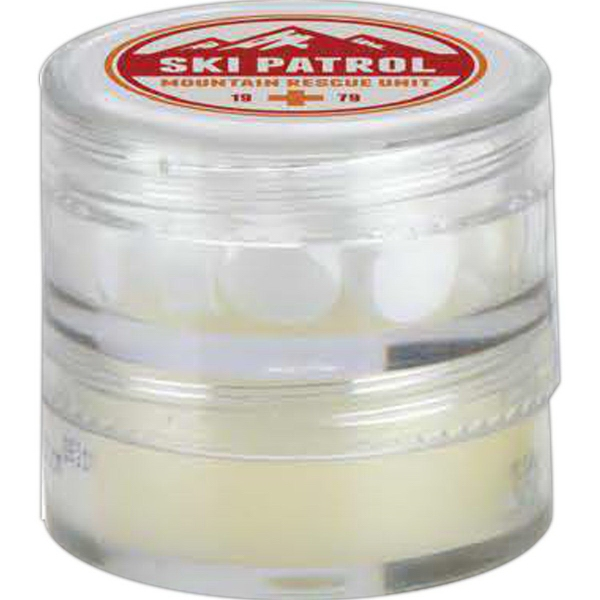 2 in 1 Mint & Lip Balm Container