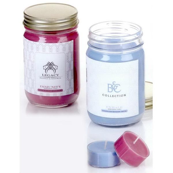 Aromatheraphy Candle in Mason Jar