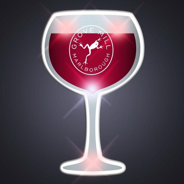 Wine Glass Pin Flashers