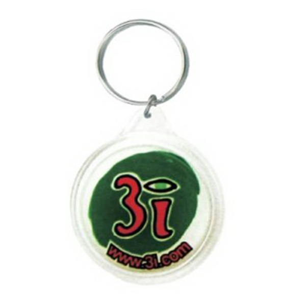 Infinity Color Round Shape Key Tag