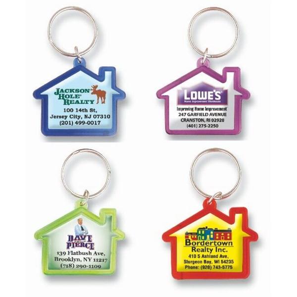 Infinity Color House Shape Key Tag