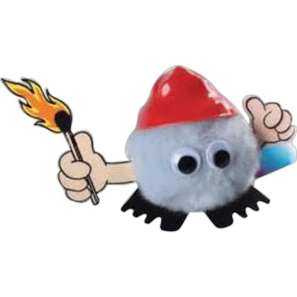 Firefighter - Matches Hat & Hand Weepul