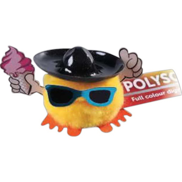 Sombrero, Sunglasses & Ice Cream Hat & Hand Weepul
