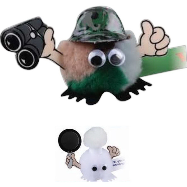 Camouflage Hat & Binoculars Hat & Hand Weepul