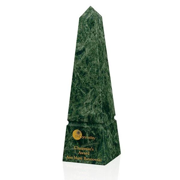 Verde Marble Obelisk