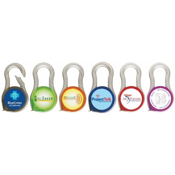Fountaine Carabiner Tape Measure