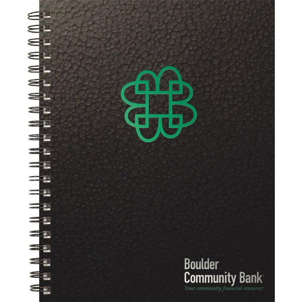 Textured Metallic Journal - Large Note Book