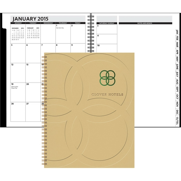 The Director Monthly Planner - Hard Cover