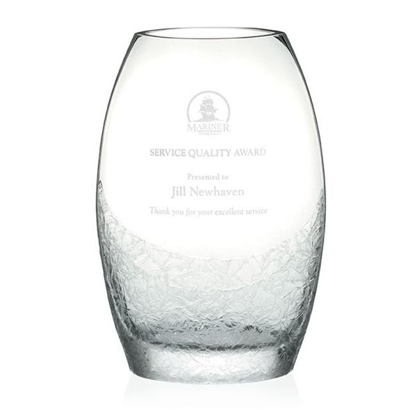 Winter Frost Vase