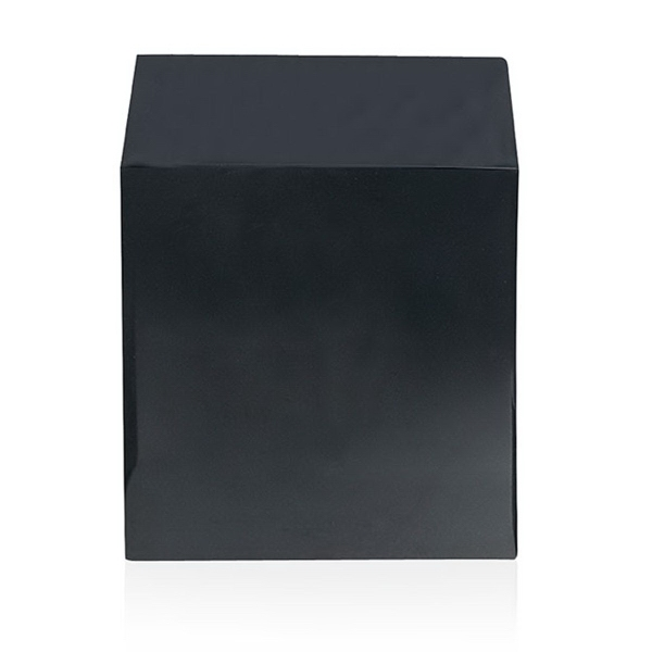"3"" Black Cube Base"