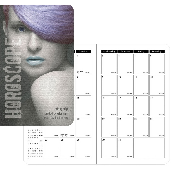 Pocket Secretary - Full-Color Monthly Planner