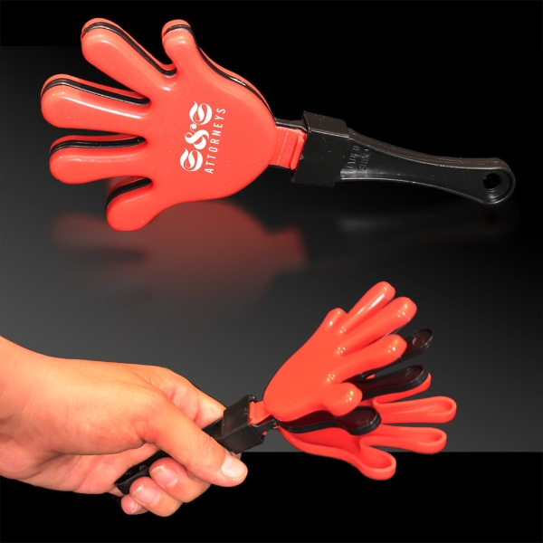 Red Black & Red Hand Clapper