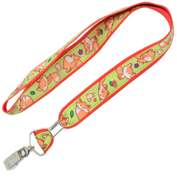 Full Color Satin Polyester Lanyards