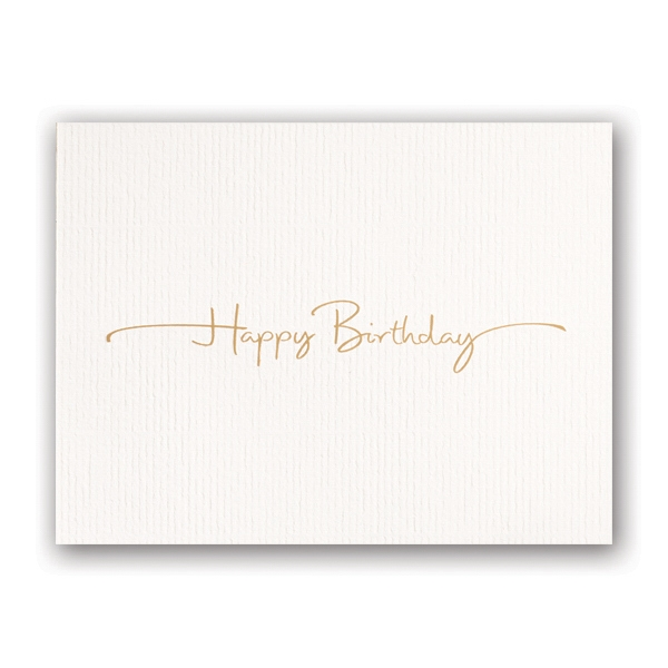 Birthday in Style Greeting Card