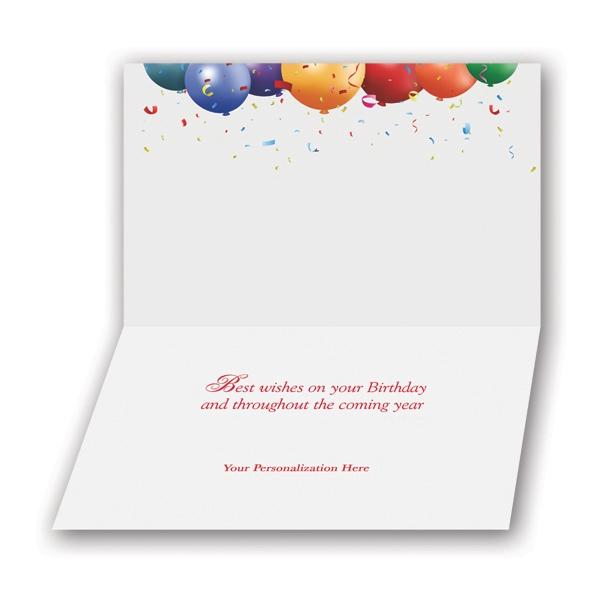 Grand Celebration Birthday Card