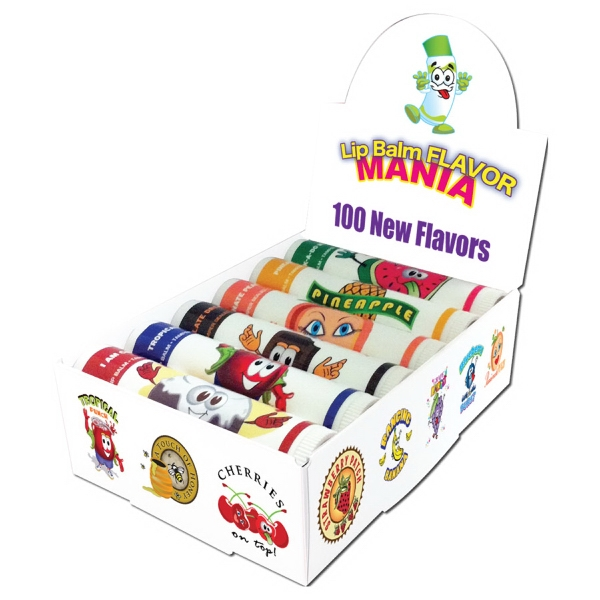 Cherry Vanilla Fun Lip Balm - All Natural, USA Made