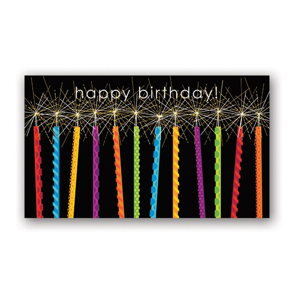 Birthday Sparks Birthday Card