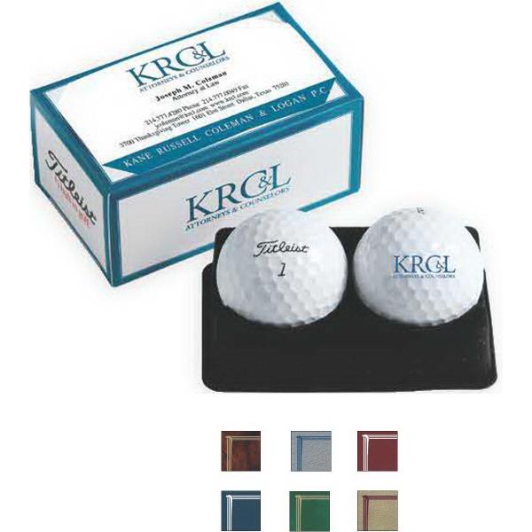 PackEdge 2-Ball Business Card Box