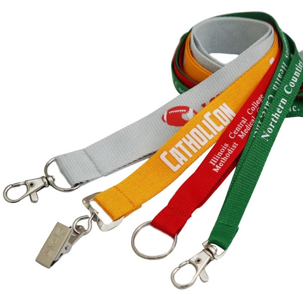 Screen Printed Polyester Lanyard