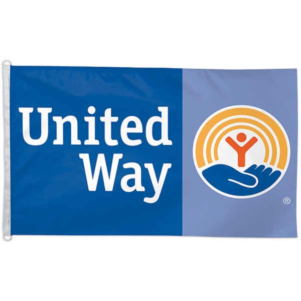Imported 3' x 5' Two-Sided Polyester Flag