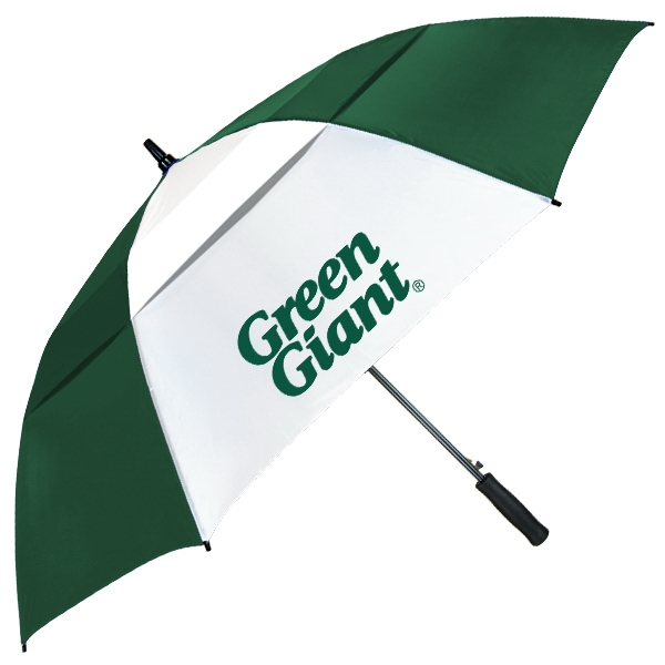 The Vented Club Canopy (TM) Umbrella - Golf umbrella features automatic opening, vented canopy and fiberglass construction.!!