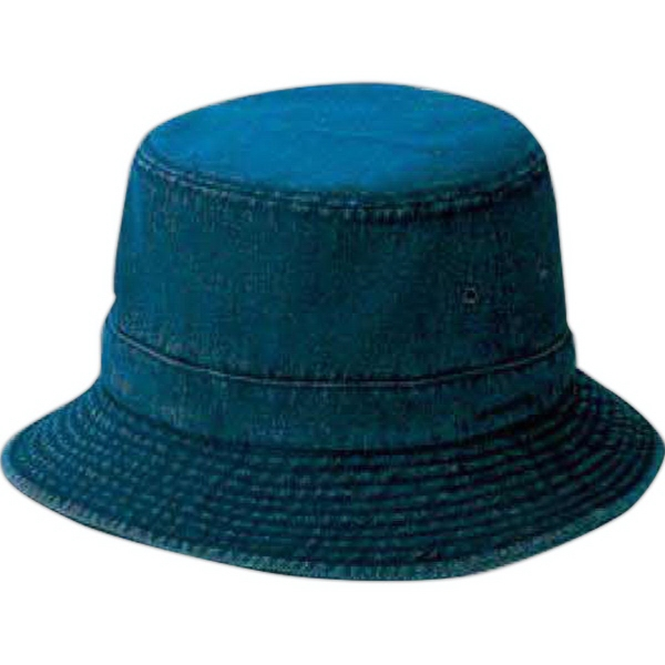 3242e74405f Youth Washed Denim Bucket Hat