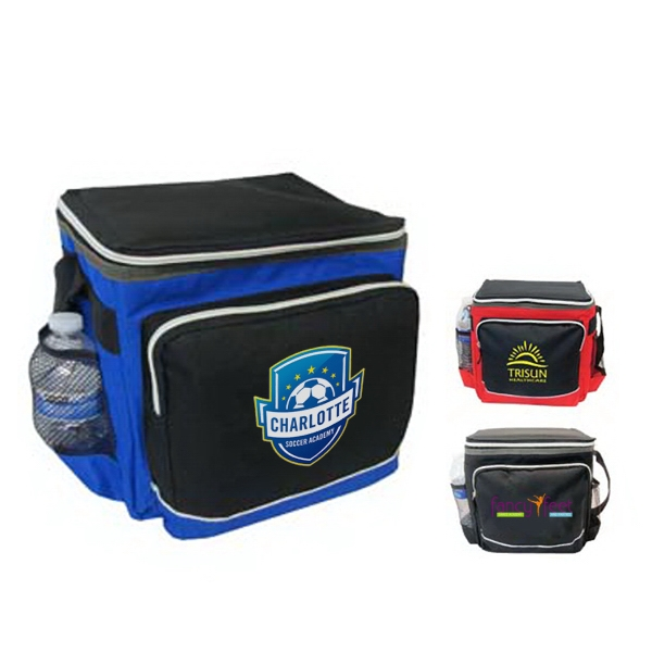 Deluxe 12 Can Cooler Bag with Detachable Lining