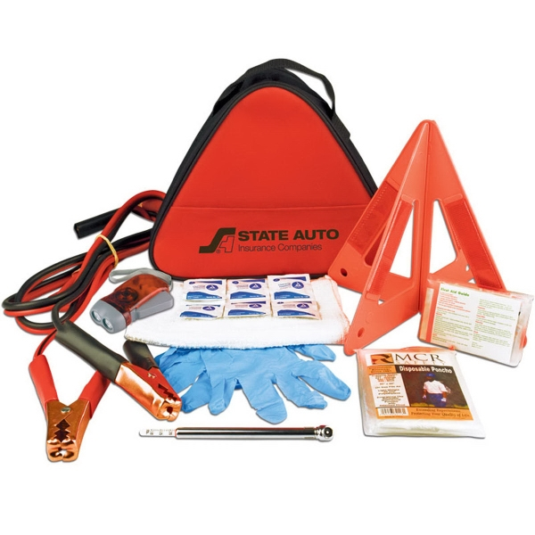 Deluxe Triangle Safety Kit - Deluxe Triangle Safety Kit.