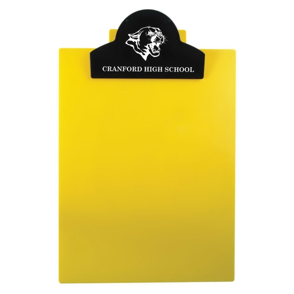 Letter Clipboard with Jumbo Round Top Clip