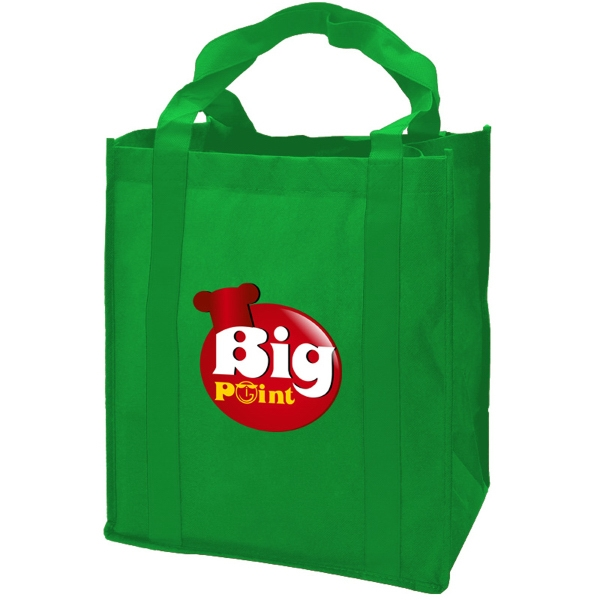 Grocery Tote - 80 gsm - Grocery Tote Bag - 80 gsm, in digital full color imprint.