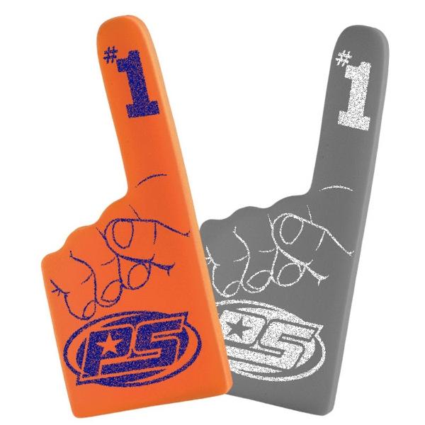 """16""""  #1 Cheering Hand Mitt - 16"""" Number 1 Foam Cheering Hand Mitt."""