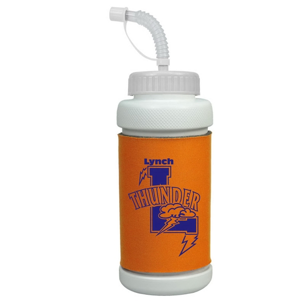 34 oz Insulated Sports Bottle - 34 oz Insulated Sports Bottle with straw lid.