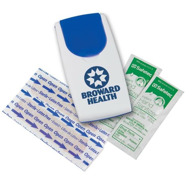 Grab N' Go Sanitizer Flip-Top Safety Kit - Sanitizer Flip-Top Safety Kit.