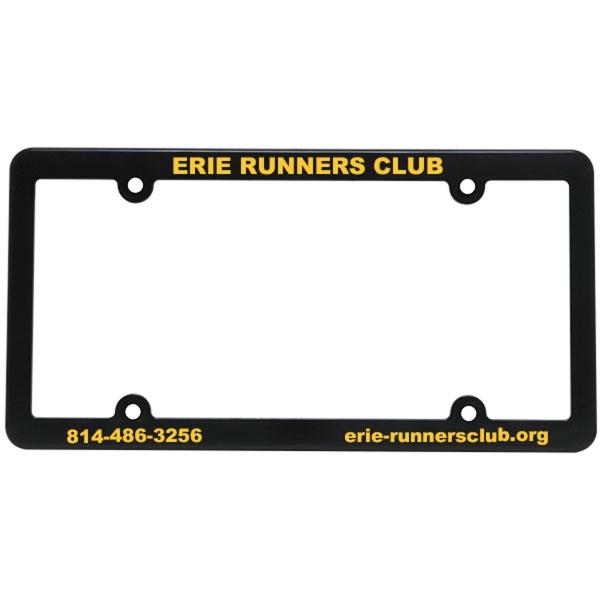 Slim Line License Plate Frame - License plate frame.