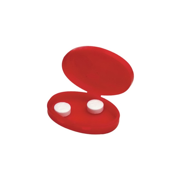 Oval Pill Case - Oval shape pill case.