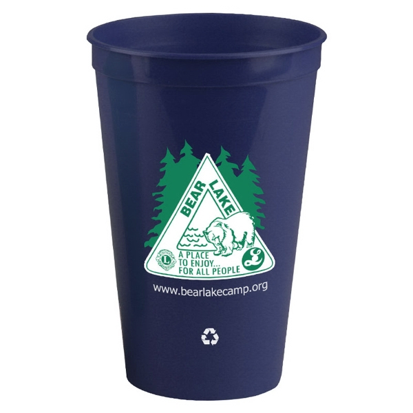 20 oz recycled stadium cup