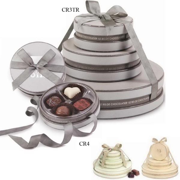 Cirque 3-Tier Belgian Chocolate Truffle Tower