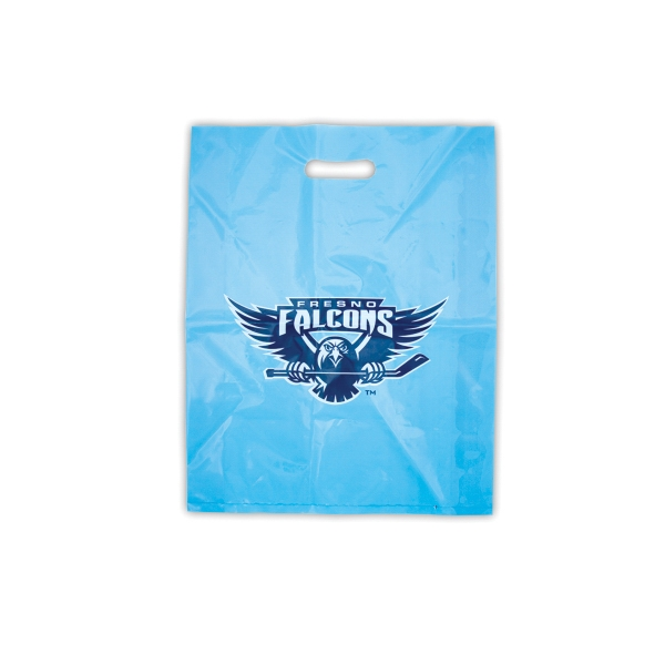 "Merchandise Bag 9"" x 12"" with die cut slot as shown."