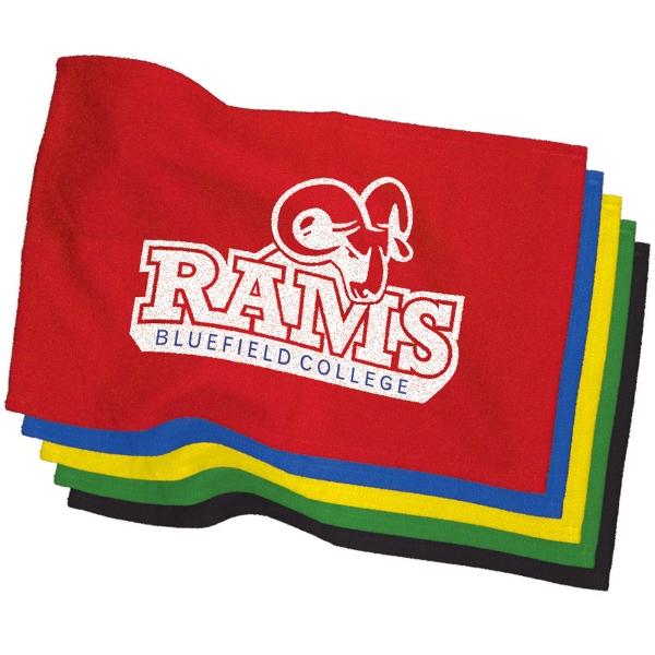 "11"" x 18"" Colored Rally Towel - 11"" x 18"" Colored Rally Towel."