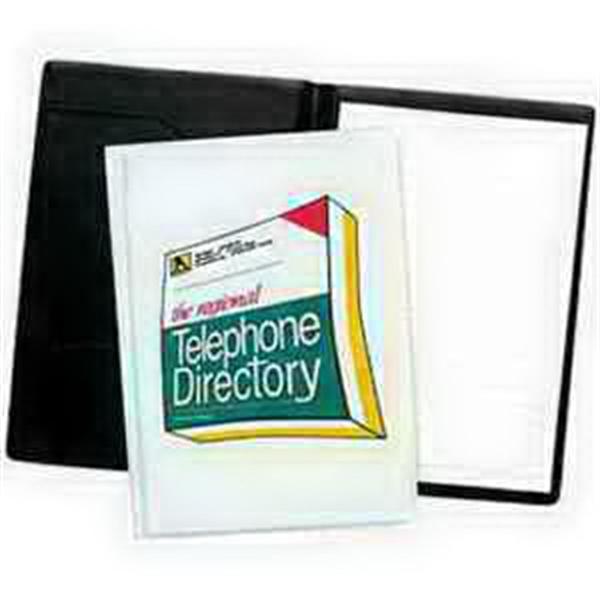 Junior Size Desk Folder - Translucent