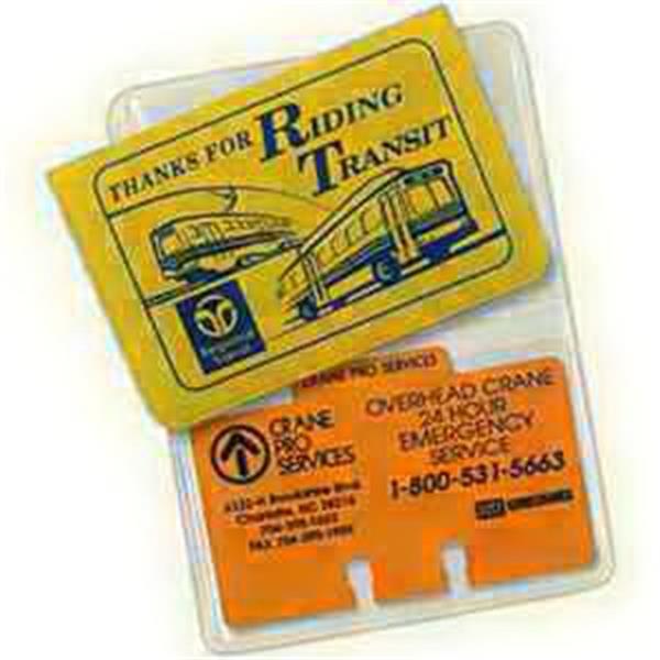 Large Size Card Holder - Translucent