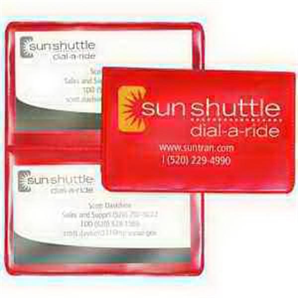 Standard Size Card Holder - Translucent