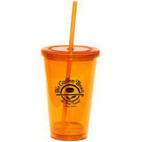 Glacier Double Wall 16 Oz Tumbler